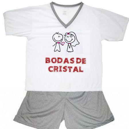 Pijama Bodas De Cristal