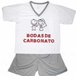 Pijama Bodas De Carbonato
