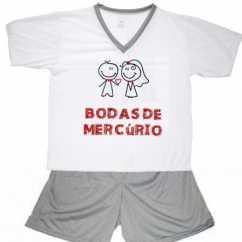 Pijama Bodas De Mercúrio