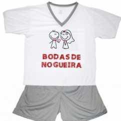 Pijama Bodas De Nogueira