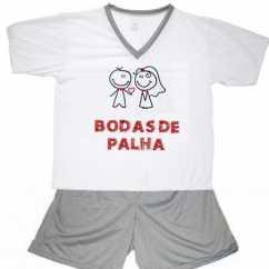 Pijama Bodas De Palha