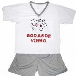 Pijama Bodas De Vinho