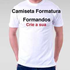 Camiseta Personalizada Formatura
