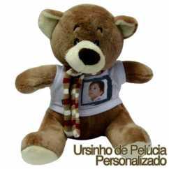 Ursinho de Pelúcia Personalizado