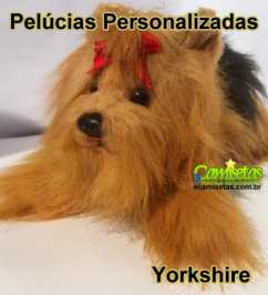 Cachorrinho de Pelúcia Personalizado  Yorkshire