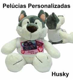 Husky de Pelúcia Personalizada