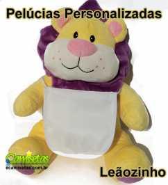 Leão de Pelúcia Personalizado