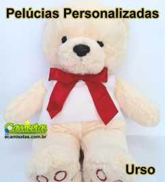 Urso de Pelúcia Personalizado