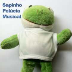 Sapinho de Pelúcia Musical Personalizado