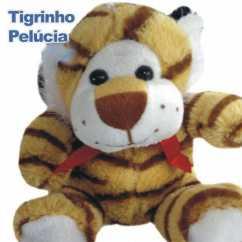 Tigre de Pelúcia Personalizado