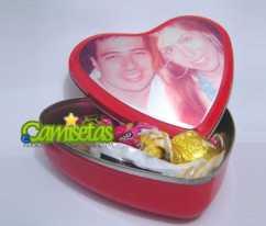 Caixa Personalizada Coração
