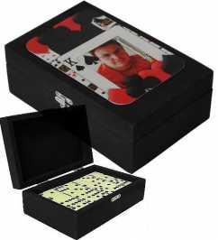 Caixa de Domino Personalizada