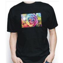 Camiseta Personalizada Preta Poliester com Película
