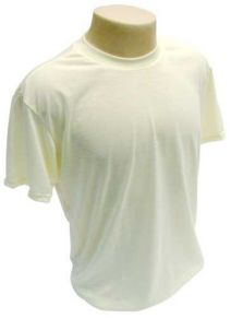 Camiseta Poliester Amarela personalizada