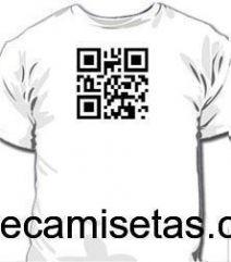 Camiseta QR Code Personalizada