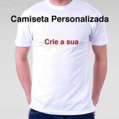 Camiseta Personalizada Branca