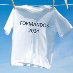 Camiseta Personalizada Formandos 2014