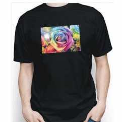 Camiseta Personalizada Preta com Brilho