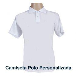 26280d15f Crie a sua · Disponível em Estoque Camiseta Polo Personalizada Branca