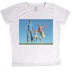 9fe3c2da2 Crie a sua · Disponível em Estoque Camiseta Infantil Personalizada Branca