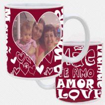 Caneca Personalizada Te Amo Mamãe