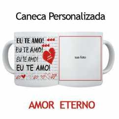 Caneca Personalizada Amor Eterno