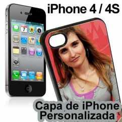 Capa de Iphone 4 Personalizada