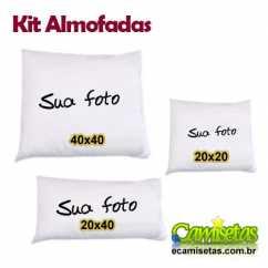 Kit Almofadas Personalizadas