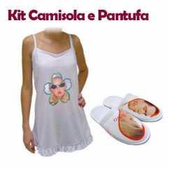 Kit Camisola e Pantufa Personalizada