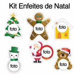 Kit Enfeites de Natal
