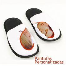 Pantufa Personalizada com Estrelinhas